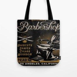 Gentlemen's Barber Shop LA Tote Bag