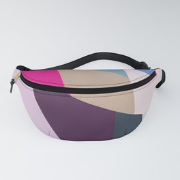 Abstract Geometric Art Colorful Design 519 Fanny Pack