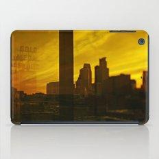 golden minneapolis iPad Case