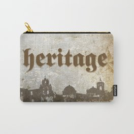 Tejano Heritage Poster Carry-All Pouch