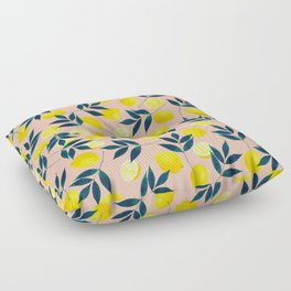 Lemony Goodness Floor Pillow