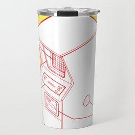 ARCADE CAB - PONG Travel Mug