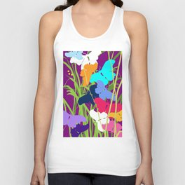 Butterfly Night Unisex Tank Top