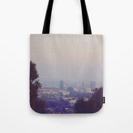 Natural Skyline Tote Bag