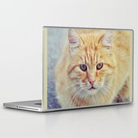 ginger Laptop & iPad Skins featuring Ginger by LindaMarieAnson