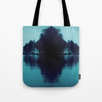 finland Tote Bags featuring Finland Mysteries by Onaaa