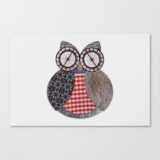 OWL #4 Canvas Print