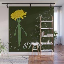 Dandeliono Character poster (STEP) Wall Mural