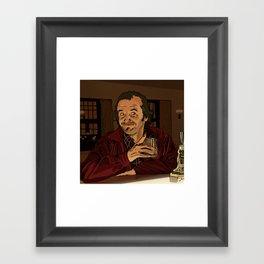 """The Shining - """"I like ya Lloyd.."""" Framed Art Print"""
