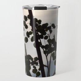 Shadowy rose leaves Travel Mug