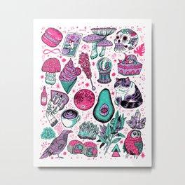 Basic Witch II Metal Print