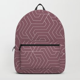 Raspberry glace - violet - Modern Vector Seamless Pattern Backpack