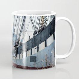 Boat of New York Coffee Mug