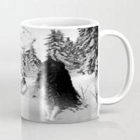 pagan Mugs featuring Pagan forest by Kristina Haritonova