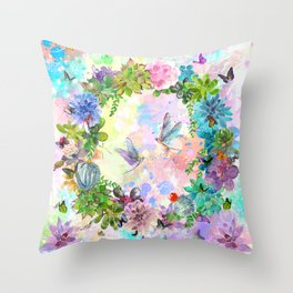 s for spring Throw Pillow