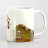 monsters Mugs featuring Monsters by Ganech joe