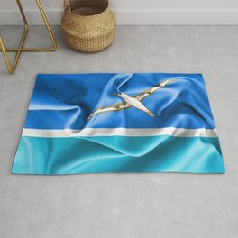 Midway Islands Flag Rug
