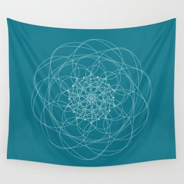 Ornament – Morphing Blossom Wall Tapestry