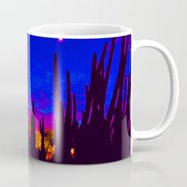 Sunset at the Botanical Gardens in Phoenix, Arizona  Coffee Mug