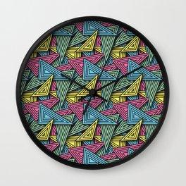 Triangle Funk - Summer Editon Wall Clock