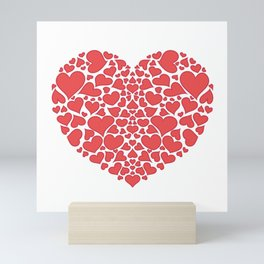 Hearts Full of Hearts Mini Art Print