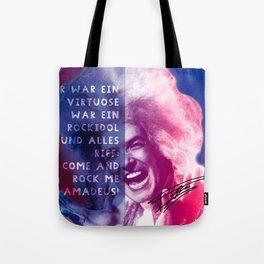 Rock Me Amadeus Tote Bag