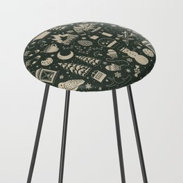 Winter Nights: Forest Counter Stool