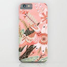 Little Pink Bird iPhone Case