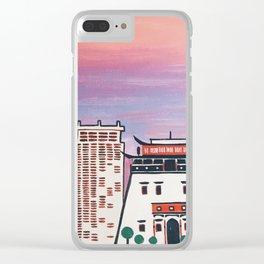 ulaanbaatar Clear iPhone Case