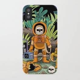 Lost contact iPhone Case