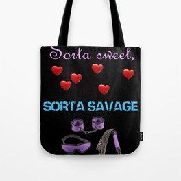 Sweet 'n' Savage Tote Bag