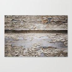 Flaky Canvas Print