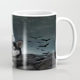 Kovu the Siberian Husky Coffee Mug