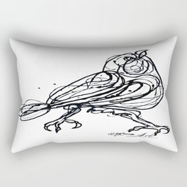 Chin Up Little Buttercup #Abstract #Pollock #society6 #decor #buyart by Lena Owens @OLena Art Rectangular Pillow