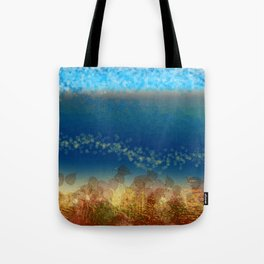 Abstract Seascape 01 w Tote Bag