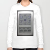 maine Long Sleeve T-shirts featuring Typical Maine by Catherine1970