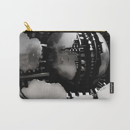 Vatican Sphere photography, Vatican Museum Travel to Italy, Abstract bronze sculpture travel phot Carry-All Pouch