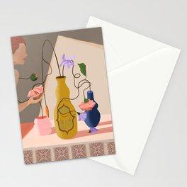 Floral Arrangement Stationery Cards