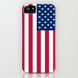 Flag of USA - American flag, flag of america, america, the stars and stripes,us, united states iPhone Case