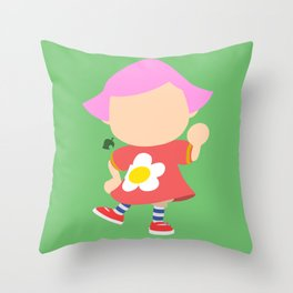 Villager♀(Smash) Throw Pillow