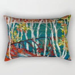 In the Northland / Dennis Weber / ShreddyStudio Rectangular Pillow