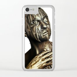 TRIBUTE TO BELOVED NARCISSISTS Clear iPhone Case