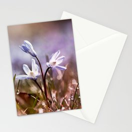 spring is just around the corner  Stationery Cards