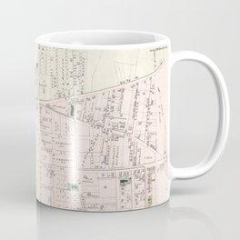 Vintage Map of Astoria NY (1873) Coffee Mug