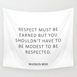 Respect - Beer Wall Tapestry