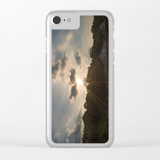 Folly Cove Clear iPhone Case