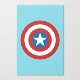 Captain of America Canvas Print