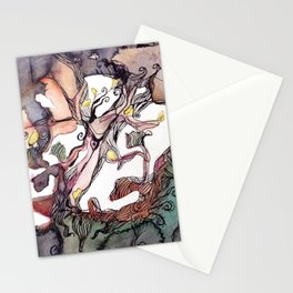 Ground Foilage Grass Stationery Cards