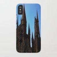 hogwarts iPhone & iPod Cases featuring Hogwarts by Blue Lightning Creative