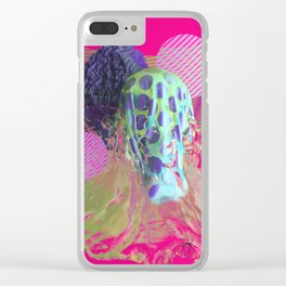 Abstract Water Colorful Simulation Clear iPhone Case